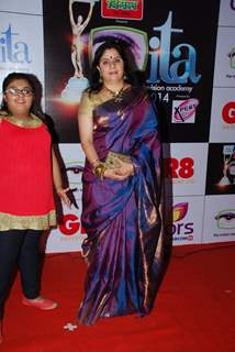 Alka Kaushal was at the ITA Awards 2014