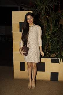 Soumya Seth poses for the media at Shashi Sumeet Production Bash