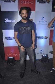 Rohit Purohit poses for the media at the Launch of BCL Team Mumbai Warriors