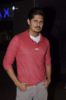 Vishal Malhotra poses for the media at the Premier of the Film Interstellar