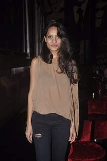 Lisa Haydon poses for the media at the Premier of The Shaukeens