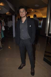 Ali Zafar poses for the media at the Premier of The Shaukeens