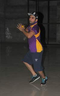 Puru Chibber at BCL Team Rowdy Banglore's Practice Sessions