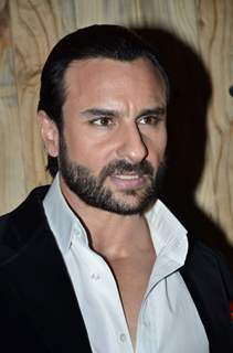 Saif Ali Khan was snapped at the Promotions of Happy Ending on Ajeeb Dastaan Hai Ye