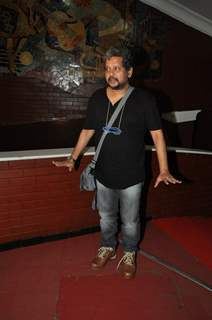 Amole Gupte was at the Special Screening of Kill Dil