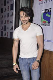 Angad Hasija was at the Promotions of BCL Team Ahmedabad Express