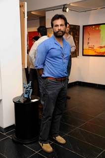 Pavan Malhotra was seen at the Khushii Art Event