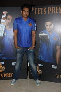 Shiv Pandit was seen at the Anthem Launch of BCL Team Chandigarh Cubs