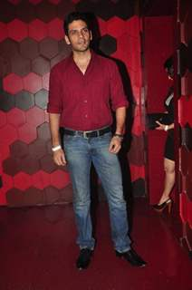 Vipul Gupta was seen at the Box Cricket League Red Carpet