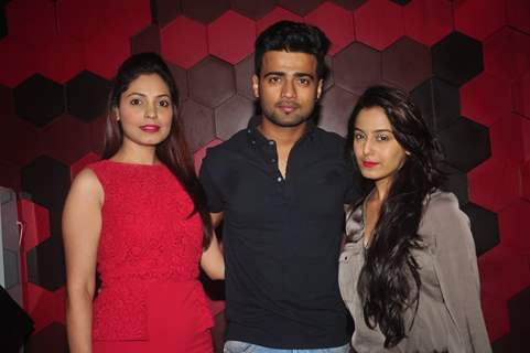 Manish Naggdev & Srishty Rode at the Box Cricket League Red Carpet
