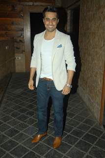 Vishal Karwal poses for the media at Vahbbiz Dorabjee Dsena's Birthday Bash