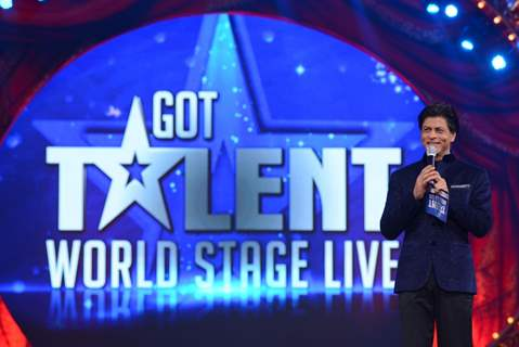 Shahrukh Khan hosts the Opening of Got Talent - World Stage Live
