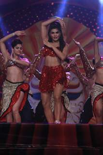 Jacqueline Fernandes performs at the Opening of Got Talent - World Stage Live
