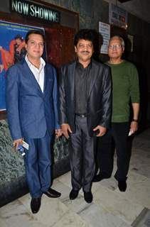 Jatin Pandit and Udit Narayan were snapped at the Celebration of 1000 Weeks Completion of DDLJ