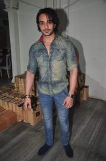 Angad Hasija was seen at the Launch of Munisha Khatwani's Tarot Predictions 2015 Book