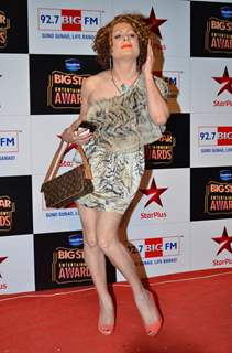 Bobby Darling poses for the media at Big Star Entertainment Awards 2014