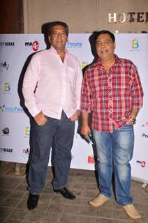Kaushal Kapoor and Abhay Bhargava at India-Forums 11th Anniversary Bash