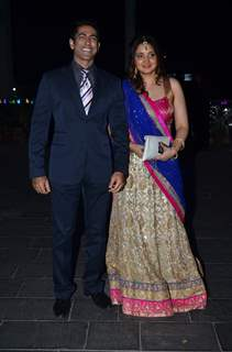 Tarun Khanna at Uday Singh and Shirin's Reception Party