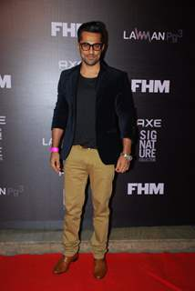 Vishal Karwal poses for the media at FHM Bachelor of the Year Bash