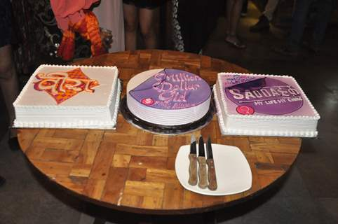 Cakes for all three shows of Yash Patnaik