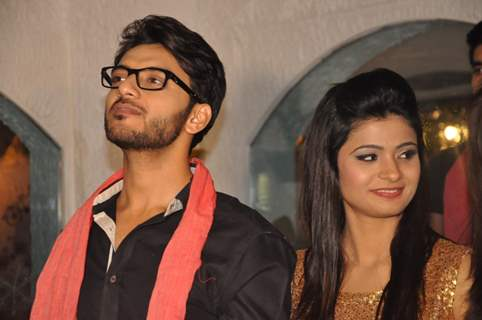 Vikram Singh Chauhan & Sharmin Kazi were at the Launch of Million Dollar Girl