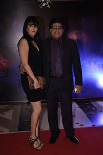 Ayub Khan with his wife were seen at Yash Chopra Memorial Awards