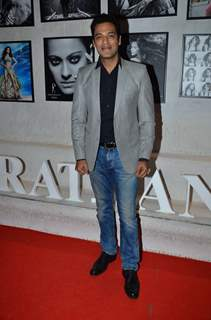 Samir Kochhar poses for the media at Dabboo Ratnani's Calendar Launch