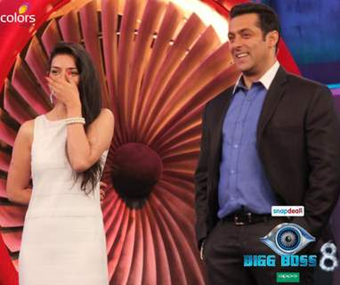 sukirti with salman