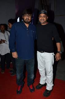 Wajid Ali and Sajid Ali pose for the media at the Music Launch of Dolly Ki Doli