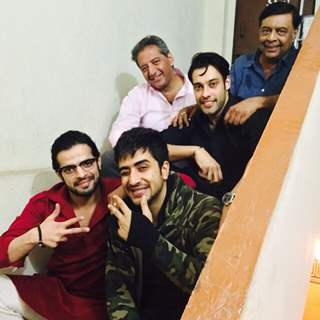 Karan Pate, lAly Goni, Abhay Bhargav, Kaushal Kapoor and Sangram Singh at shoot of YHM