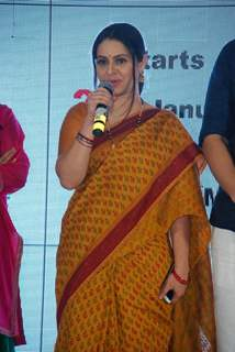 Binny Sharma addresses the Launch of Hello Pratibha