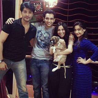 Rati Pandey, Abhishek Sharma and Anas Rashid