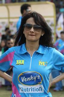 Rajeshwari Sachdev was snapped at Mumbai Heroes Match at CCL