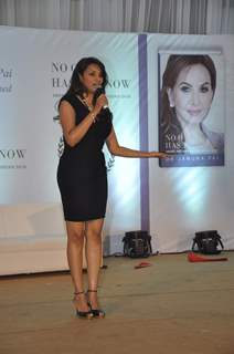 Diana Hayden addresses Dr. Jamuna Pai's Book Launch