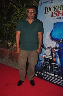 Sharat Saxena at the Music launch of Lucknowi Ishq