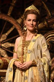 Suzanne Bernert at the Launch of Chakravartin Ashoka Samrat