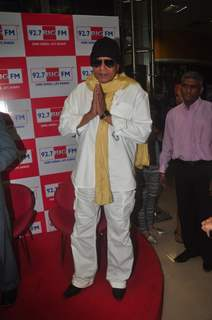 Mithun Chakraborty greets the media at BIG Hawaizaada Heroes event