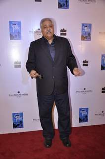 Satish Shah poses for the media at the Launch of Farhad Samar's Book 'Flash Point'