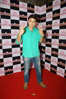 Romit Raj poses for the media at the Completion of 400 Episodes of Adaalat
