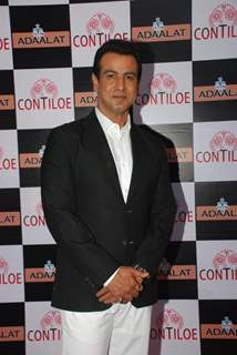 Ronit Roy poses for the media at the Completion of 400 Episodes of Adaalat