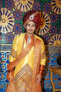 Rohit Purohit poses for the media at the Launch of Razia Sultan