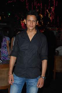Abhishek Rawat poses for the media at the Launch of Servicewali Bahu