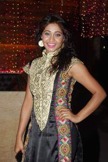 Amrapalli Gupta poses for the media at the Launch of Servicewali Bahu