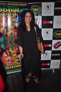 Suchitra Krishnamurthy poses for the media at Sonu Nigam and Bickram Ghosh's Album Launch