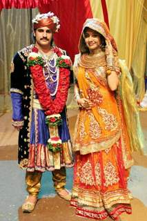 Rajat Tokas with Paridhi Sharma