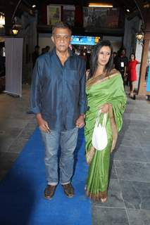 Shiv Subramaniam and Divya Jagdale at the Opening of the Cineplay Festival