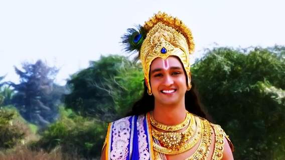 Saurabh Raaj Jain poses as Krishna.