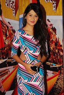 Kanchi Singh poses for the media at the Launch of Tere Sheher Mein