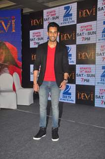 Sahil Uppal poses for the media at the Launch of Maharakshak Devi