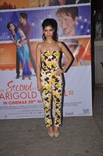 Tena Desae was at the Special Screening of The Second Best Marigold Hotel